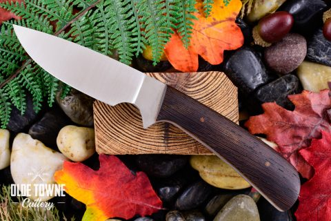 Due South Knives Drop Pt Htr Wenge