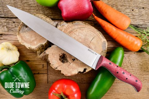 """KH Daily 10"""" Carving Knife #251 Sycamore (C)"""