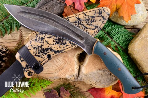 Alfa Knife AKSS4 Carry Kukri Forest G10