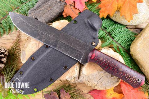 Alfa Knife AK2 Major Red Pinecone