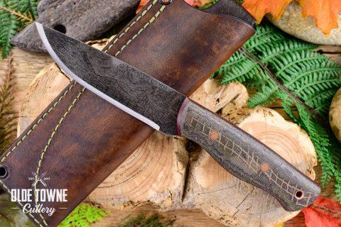 Alfa Knife AK15 Huntsman Burlap Multicam