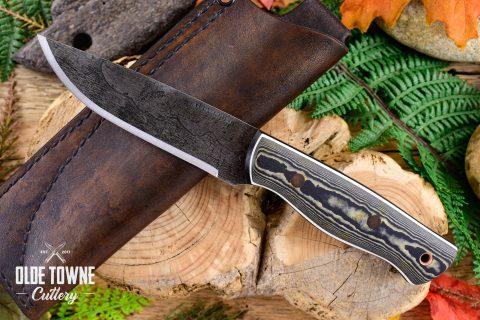 Alfa Knife AK15 Huntsman Brown Richlite/G10