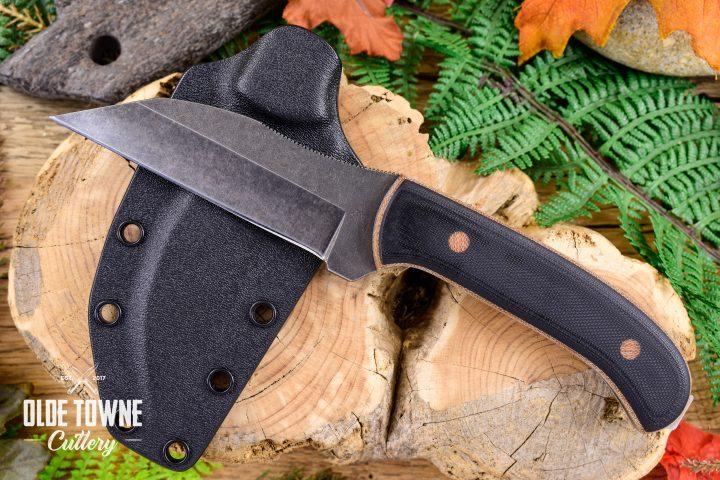 Alfa Knife AK19 Black G10 Marshall Law w/Sheath #10