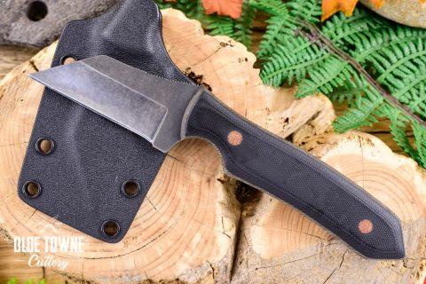 Alfa Knife AKY1 Black G10 Down Range w/Sheath #9