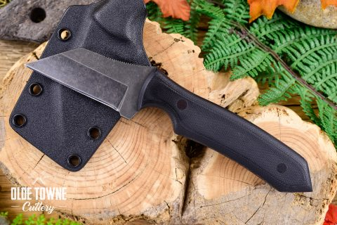 Alfa Knife AKY1 Black G10 Down Range w/Sheath #8
