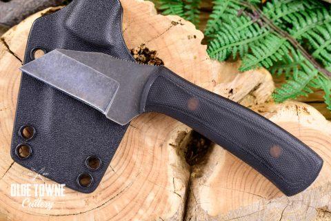 Alfa Knife AK10 Black G10 w/Sheath #7