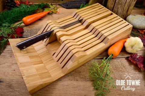 Shun DM0835 Bamboo 11-Slot Tray